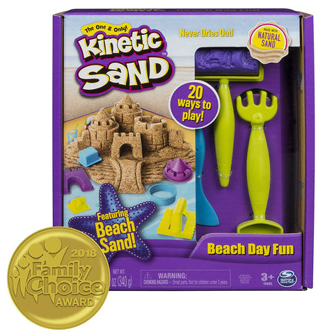 Picture of Kinetic Sand Beach Fun Play Kit