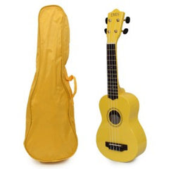Ukulele Yellow with Case