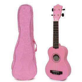 Picture of SPECIAL ORDER Ukulele Pink with Case