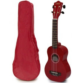 Picture of SPECIAL ORDER Ukulele Red with Case