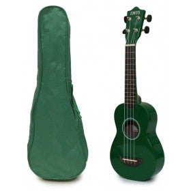 Picture of SPECIAL ORDER Ukulele Green with Case