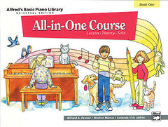 All-In-One Course Piano Book