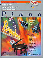 Solo Piano Complete Book Level 1: Broadway Hits