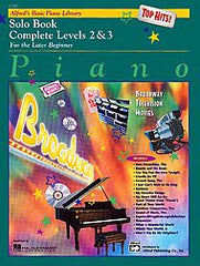 Solo Piano Complete Book Level 2&3: Broadway Hits