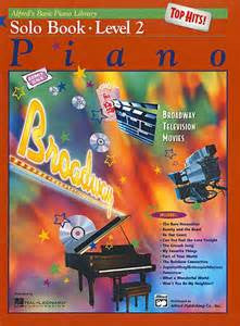 Picture of Solo Piano Book Level 2: Broadway Hits