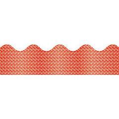 Sparkle Red Border 10pk