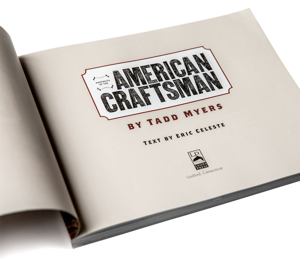 Portraits of the American Craftsman Book (Hardback)
