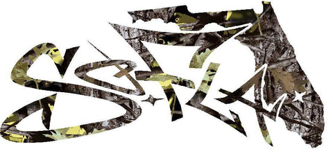 Decals Digital Camouflage White