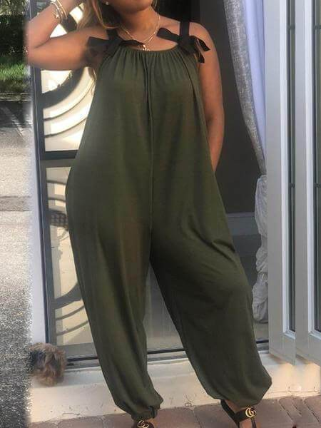 Sleeveless Slouchy Jumpsuit