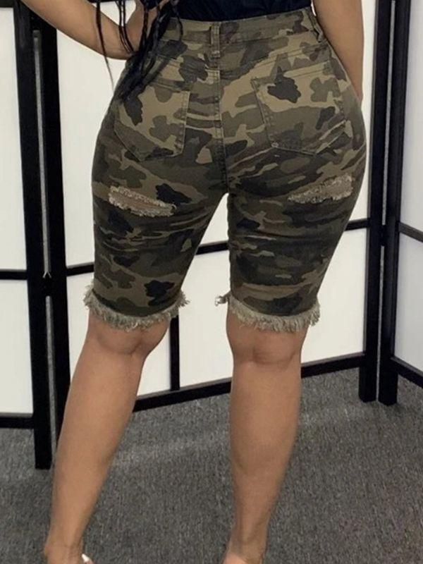 Camo Bermuda Shorts - shipped on 5/1