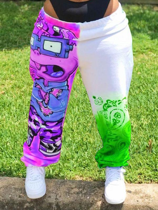 Cartoon Jogger Pants