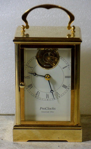 Picture of Tourbillon 24K Carriage Clock