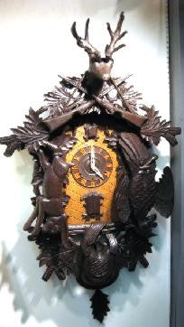 "Picture of 54"" Trumpeter Cuckoo Clock-Hunting Scene"