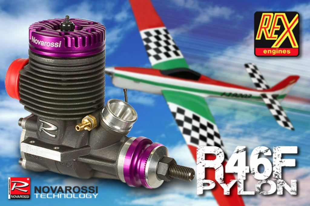 Novarossi R46 Pylon testing on a 40 sized Pattern plan - Props & RPM range