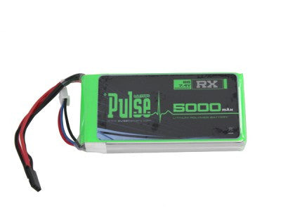 PLURX-50002 - PULSE LIPO 5000mAh 7.4V (Receiver Battery) - ULTRA POWER SERIES