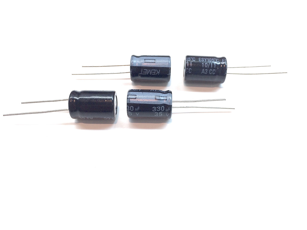 330uF 35V Extremely Low ESR Capacitor - 38 mOhm @ 100kHz - Qty. 4