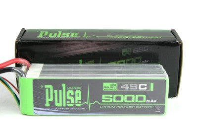 PLU45-50006 - PULSE LIPO 5000mAh 22.2V 45C - ULTRA POWER SERIES