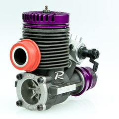 Novarossi R46F Pylon Speed Aircraft Engine. 10mm RC carburetor, header and pipe.