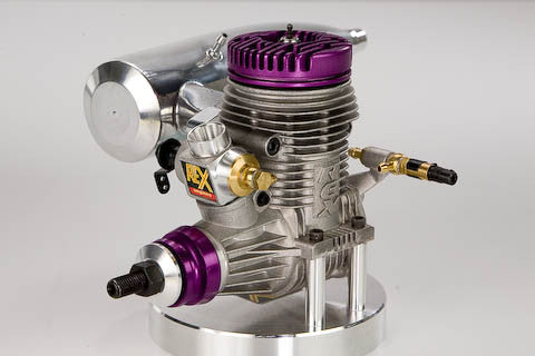 Novarossi Rex R91CR Aircraft Engine with Tuned Muffler