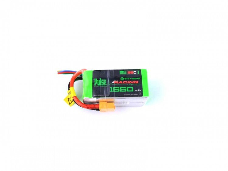 PULSE Graphene 1550mAh 4S 14.8V 95C Battery w/ XT60 193gr