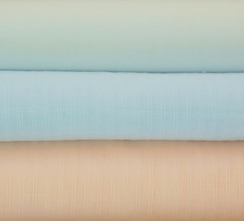 Swiss 100% Cottons:  Swiss Voile Striped Baby Dimity - 62""