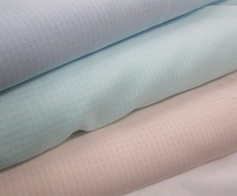 Swiss 100% Cottons: Swiss Voile Windowpane Dimity - 62""