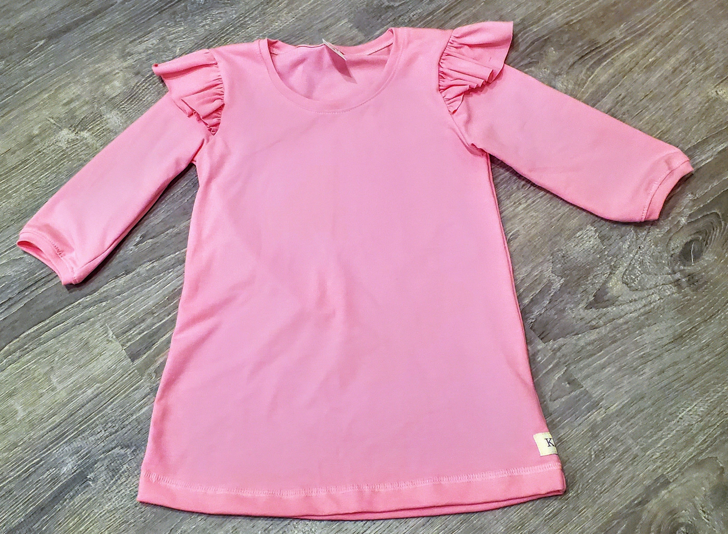 Pretty In Pink Alyssa Flutter Tee