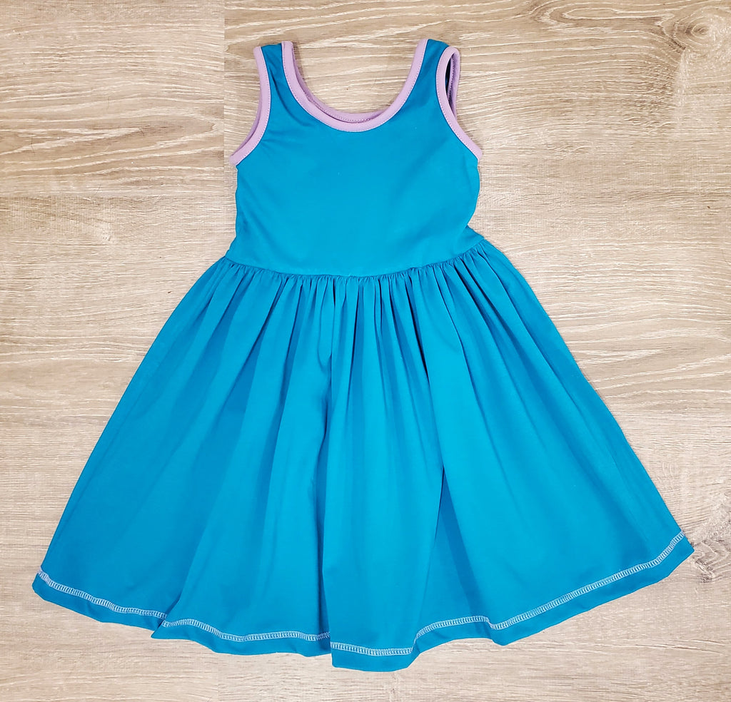 Ocean Blue Amy Lap Dress