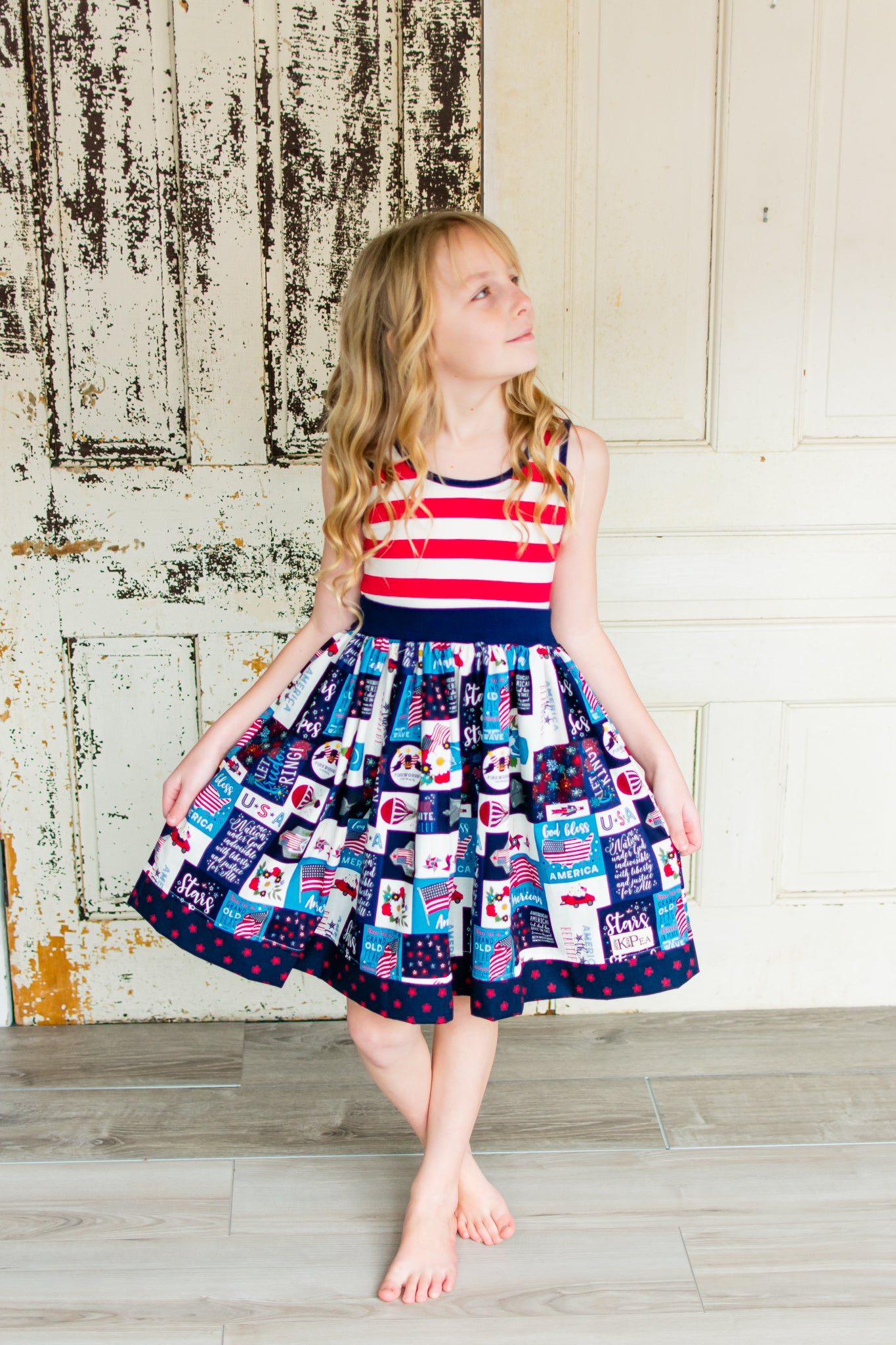 "'America the Beautiful"" Amy Dress"