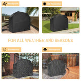 Waterproof Gas Grill Cover 58-inch [Heavy Duty]