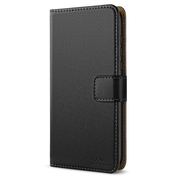 Huawei Honor Play Case,High Quality Wallet Business Phone Case Cover (Black)