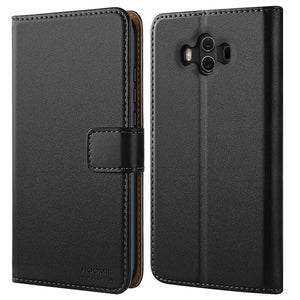 Huawei Mate 10 Case Cover Premium Leather Flip Wallet Phone Case Cover