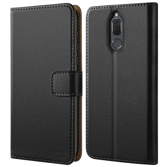 Huawei Mate 10 lite Case Cover Premium Leather Flip Wallet Phone Case Cover