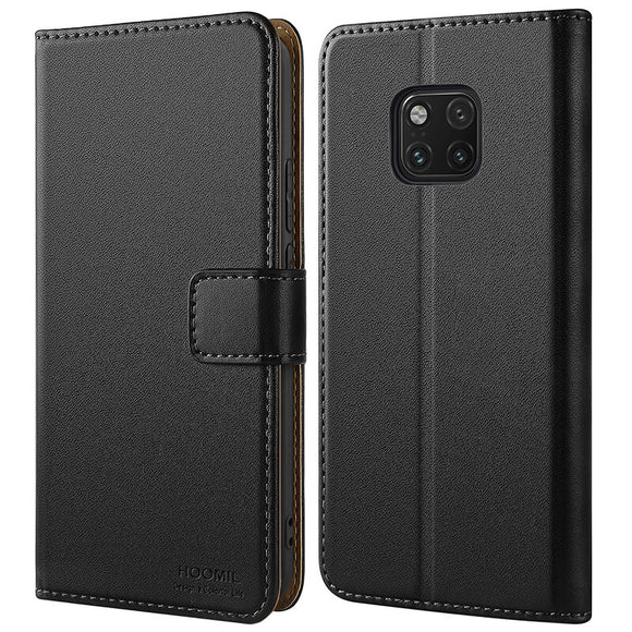 Huawei Mate 20 Pro Case Cover Premium Leather Flip Wallet Phone Case Cover