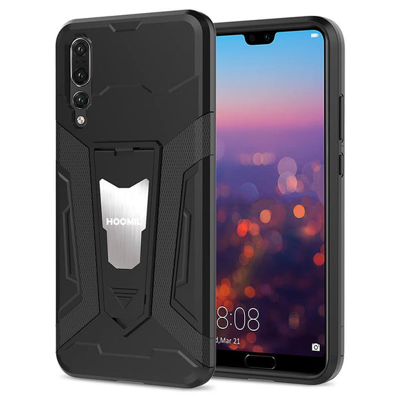 Huawei P20 PRO Hybrid Dual Layer Shockproof Hard CoverBlack