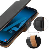 Samsung Galaxy A40 Case - Magnetic Buckle Function