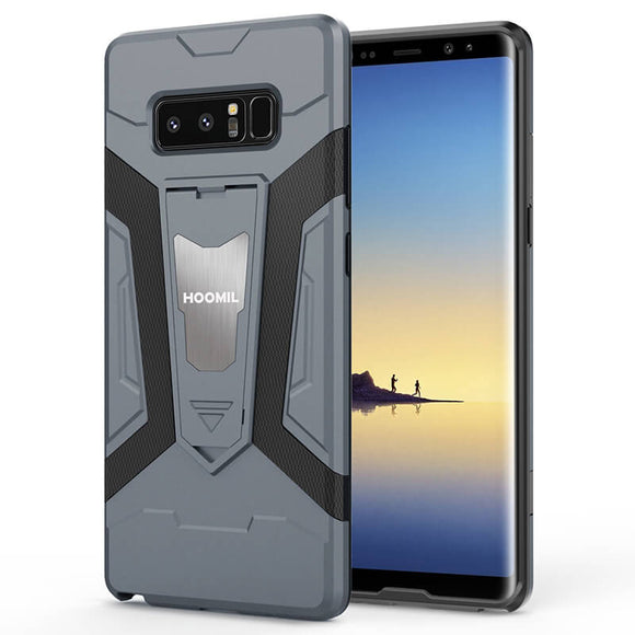Samsung Galaxy Note 8 Series Hybrid Dual Layer Shockproof Hard CoverGray