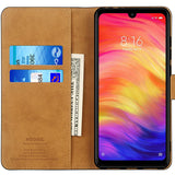 Xiaomi Redmi Note 7 Case,High Quality Wallet Business Phone Case Cover