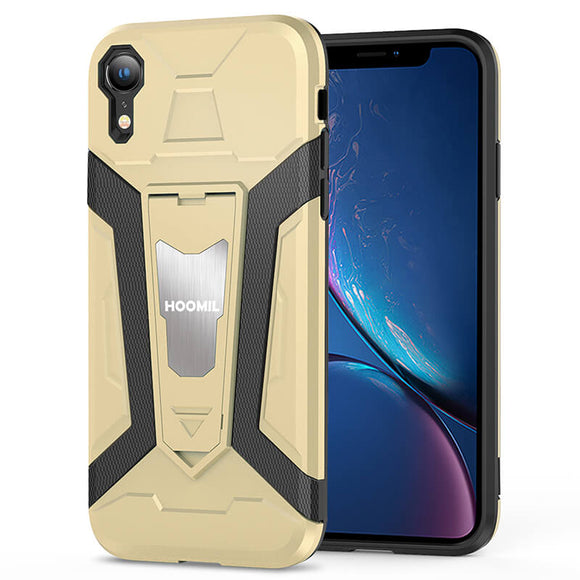 iPhone XR Hybrid Dual Layer Shockproof Hard CoverGold
