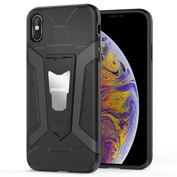 iPhone XS Max Hybrid Dual Layer Shockproof Hard CoverBlack