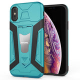 iPhone X / XS Hybrid Dual Layer Shockproof Hard CoverMint Green