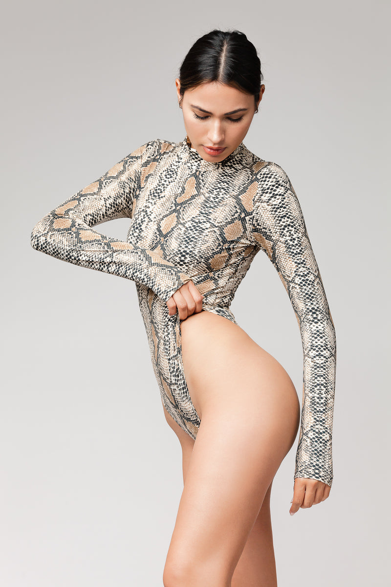 Perfect Snake Skin Bodysuit