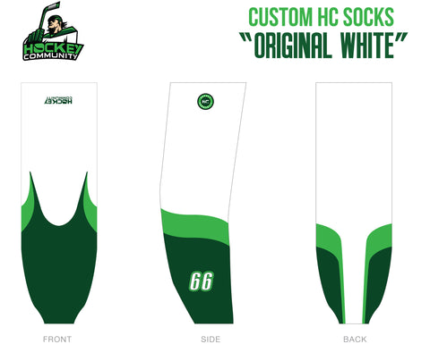 HC Socks | Original White