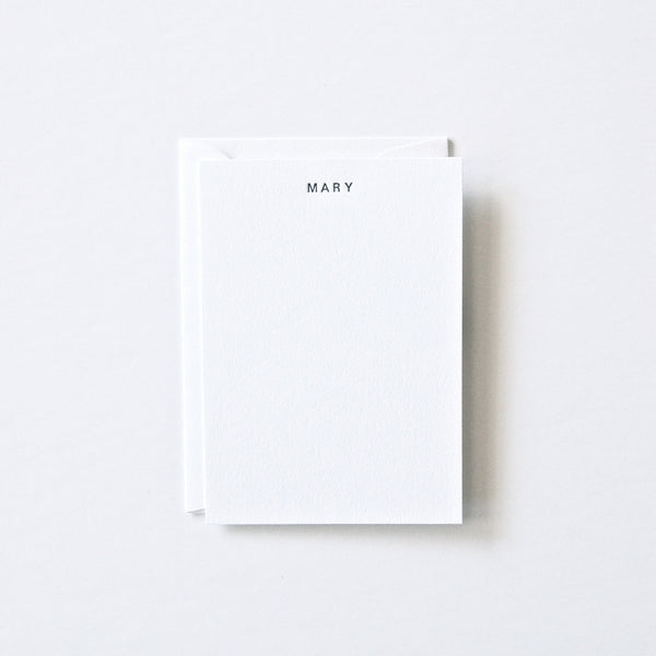 Mary - Personalized Stationery Set