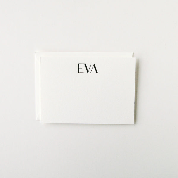 Eva - Personalized Stationery Set