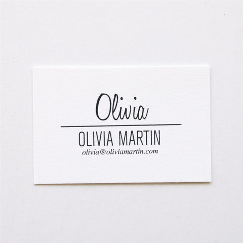 Olivia - Calling Cards