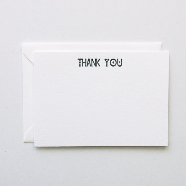 Thank You - Stationery Set