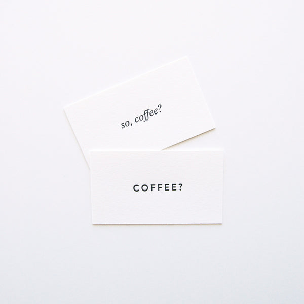 Coffee Date Cards