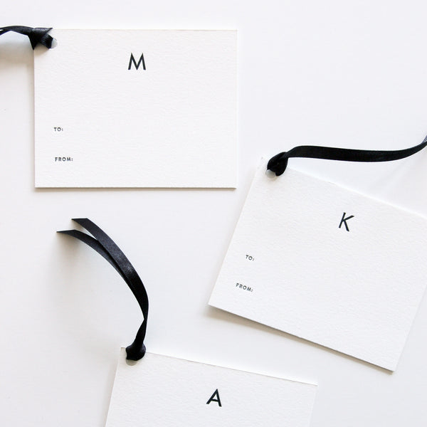 Statement Gift Tags
