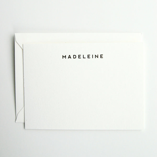 Madeleine - Personalized Stationery Set